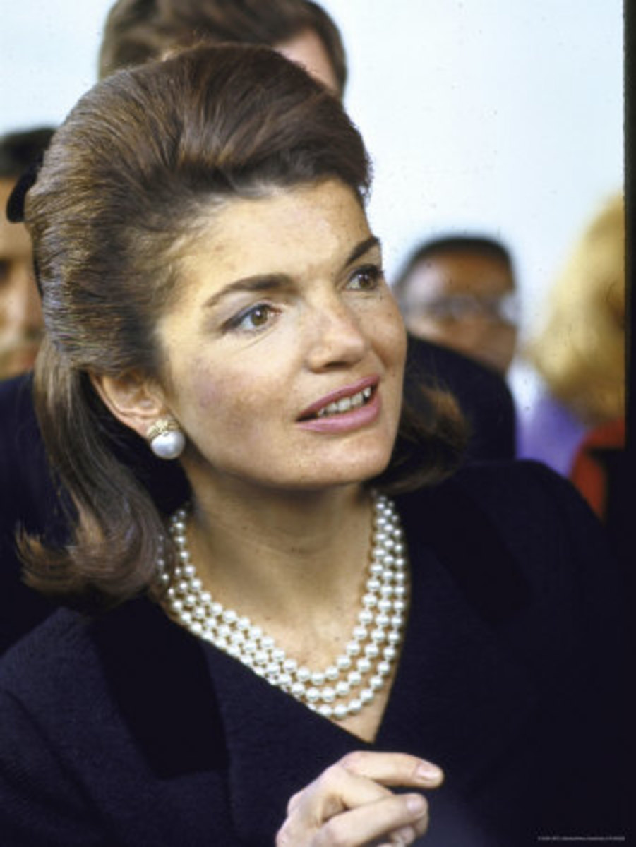 JFK Tribute to Jackie -Jacqueline Lee Bouvier Kennedy Onassis and Her Jewelry Collection