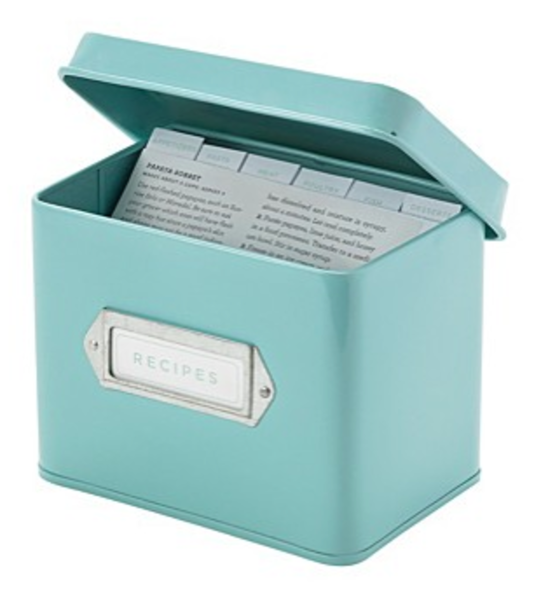 Stay Organized with a Box of Chore Cards