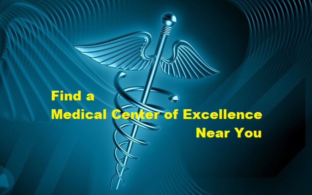 Medical Centers of Excellence are found across the USA.