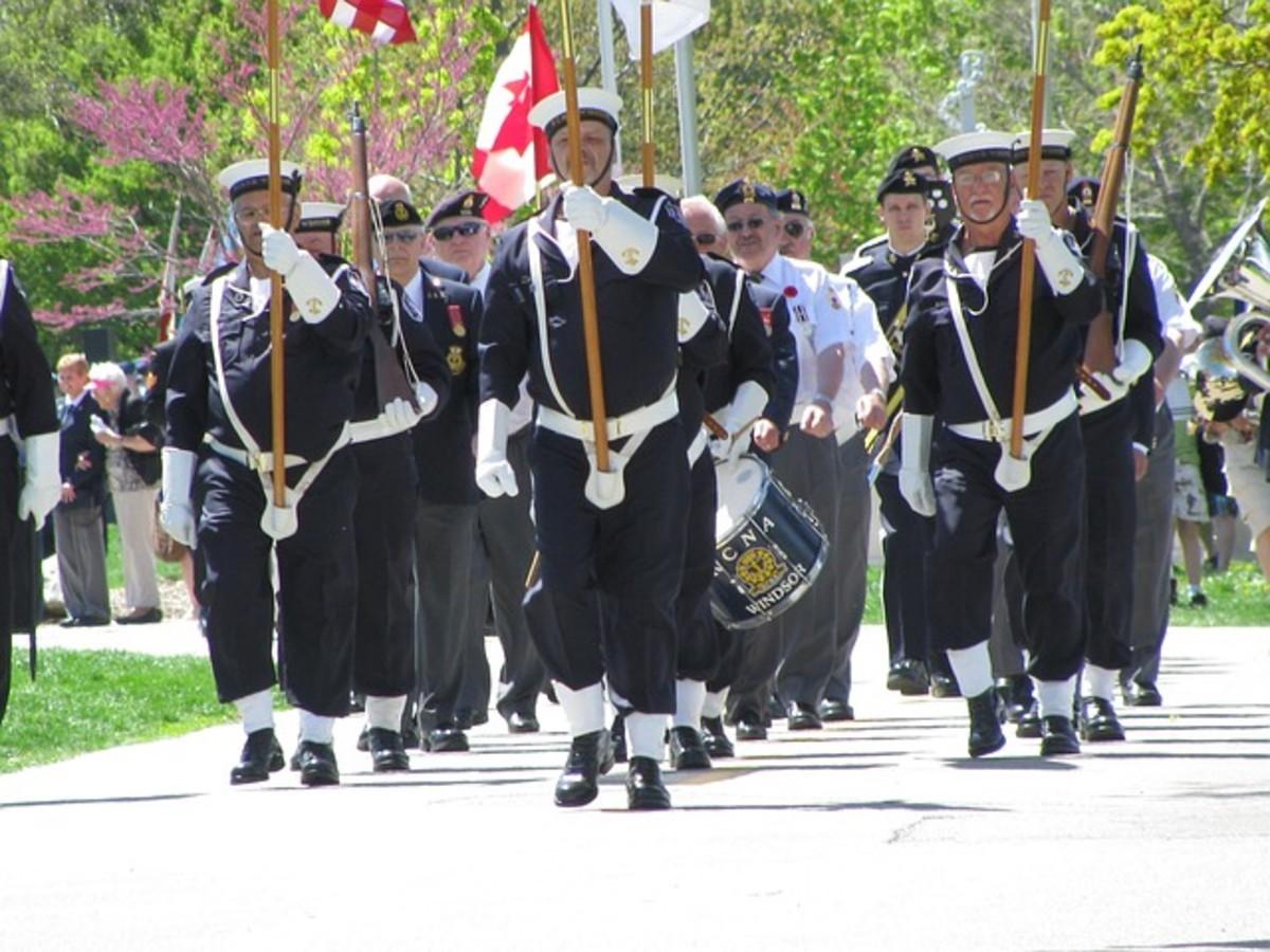 A Veterans' parade.