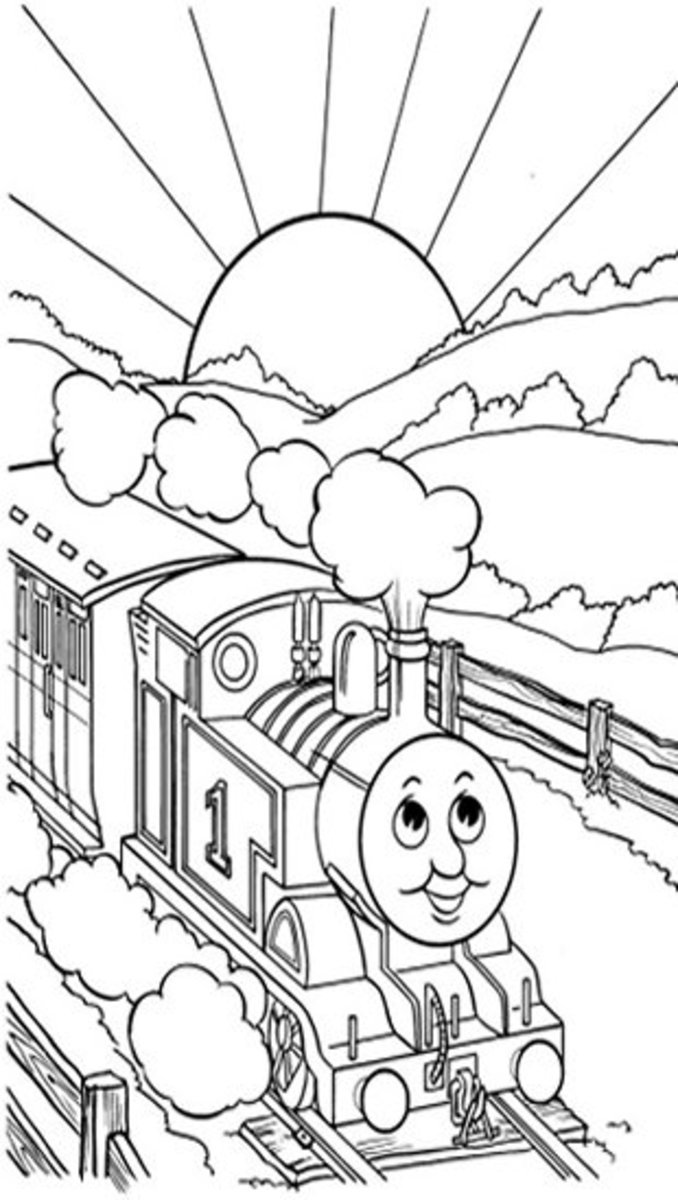 Up Country Run - Early Childhood Education Programs Free Colouring Pictures to Print-and-Colour