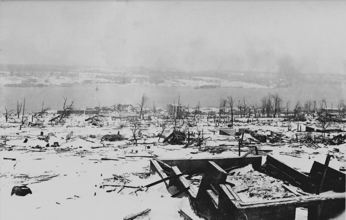 Ghosts of the 1917 Halifax Explosion