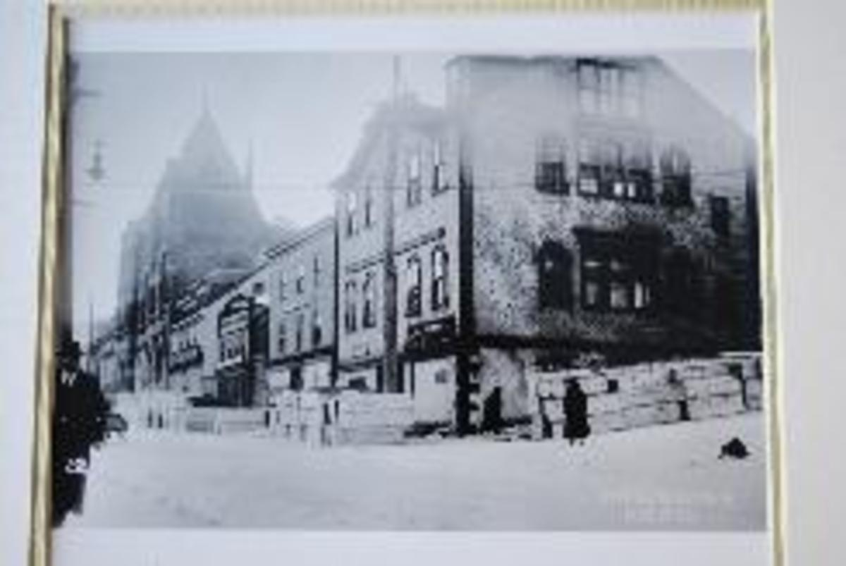 Snow's Funeral Home 1917. Image Credit: halifaxnewsnet