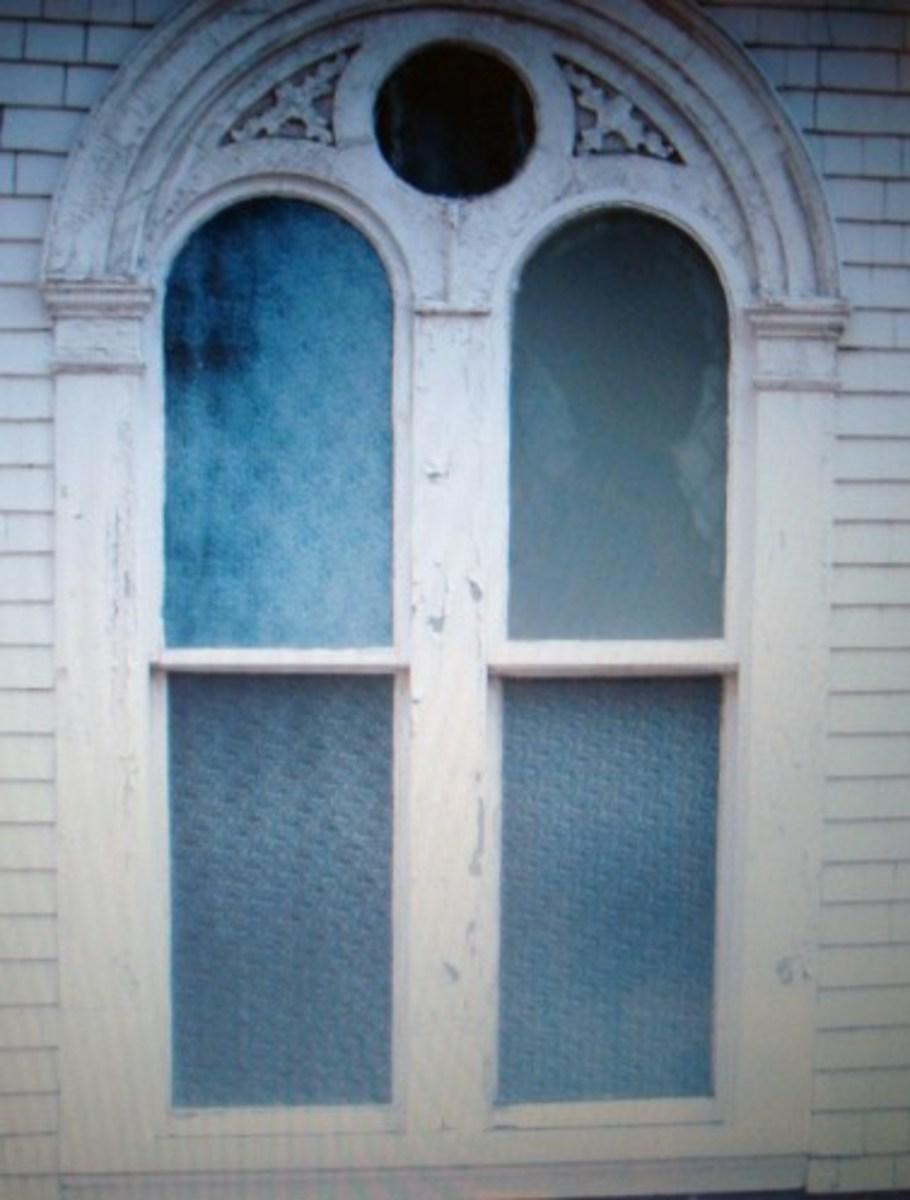 St.Paul's window from Argyle Street. Upper right hand pane.