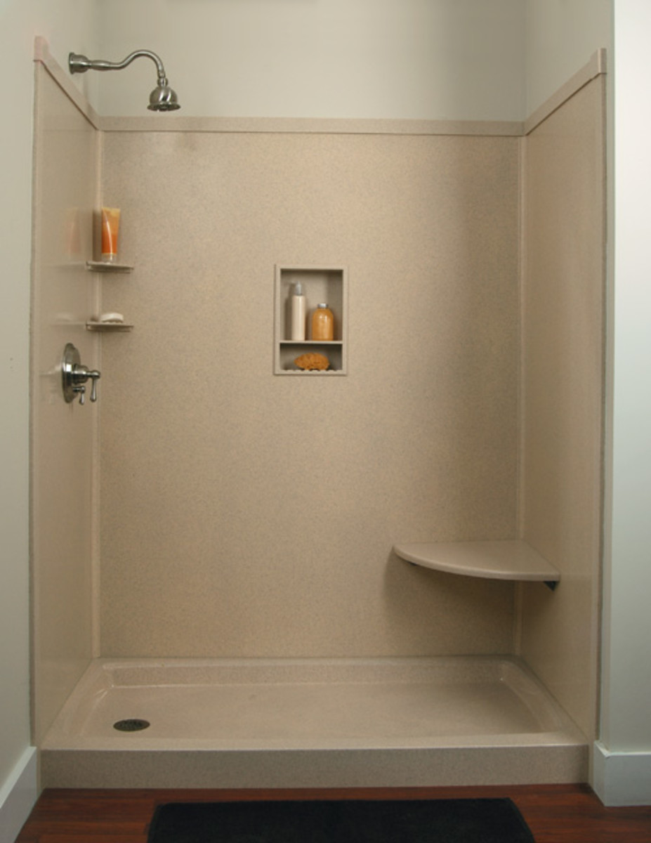 Do it yourself remodeling shower kits - Walk in shower base kit ...