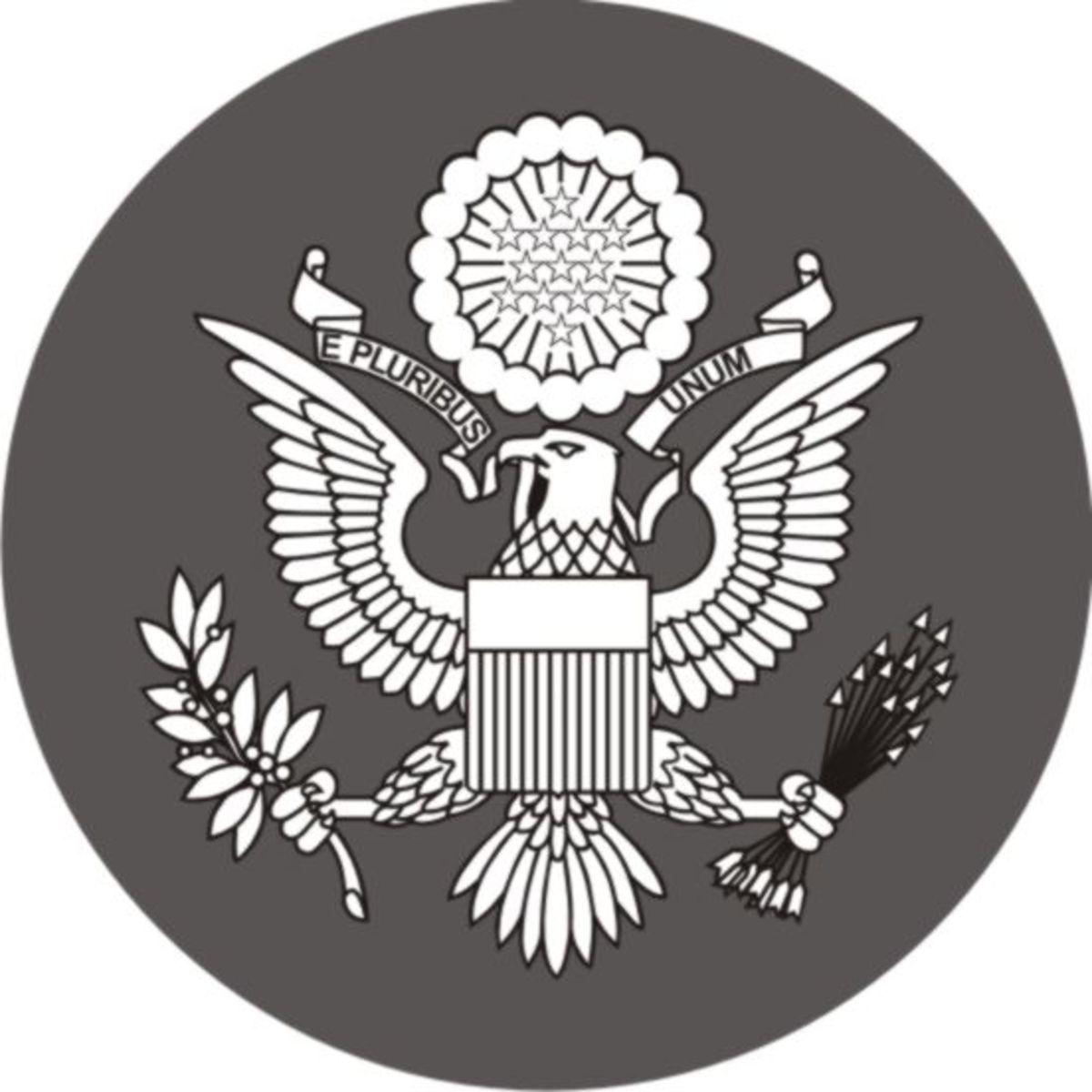U.S. Seal variation vectored.