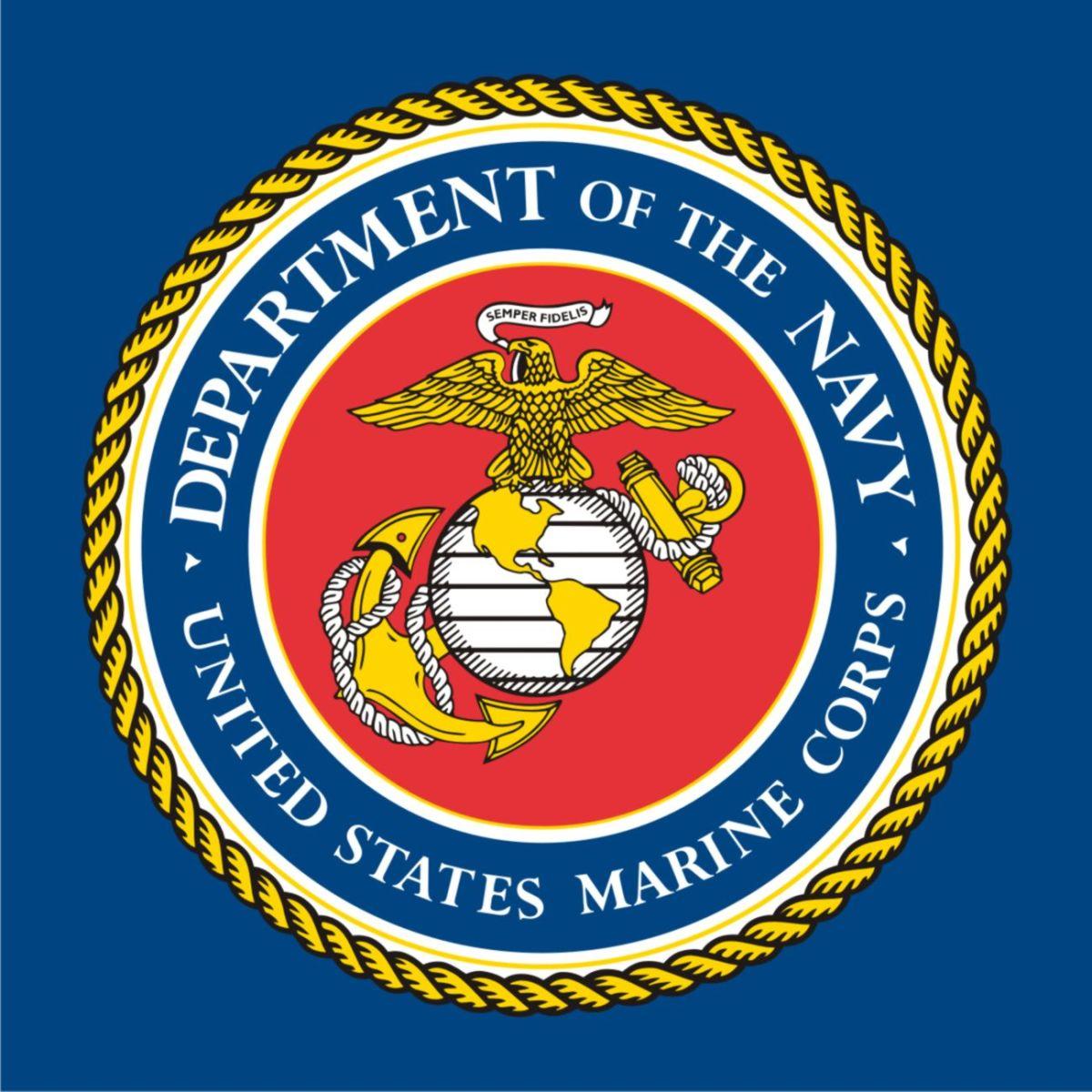U.S. Marine Corps. Seal vectored.