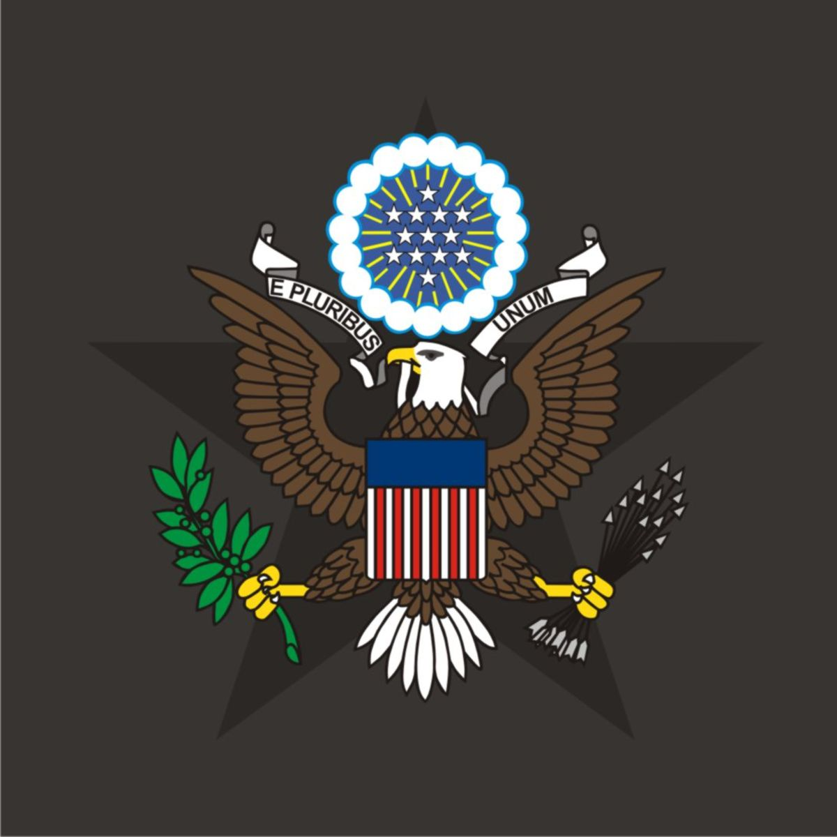 U.S. Seal another variation vectored.