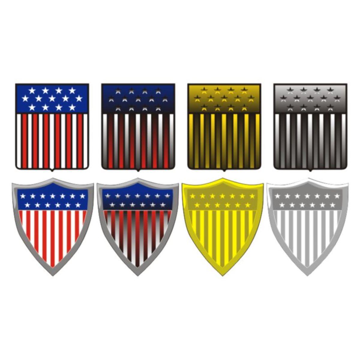 U.S. Shields vectored.
