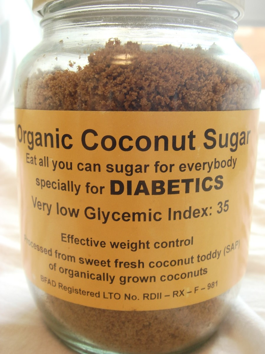 ORGANIC COCONUT SUGAR IS A LOW GLYCEMIC NATURAL SUGAR SUBSTITUTE CONTAINING A NUMBER OF NUTRIENTS
