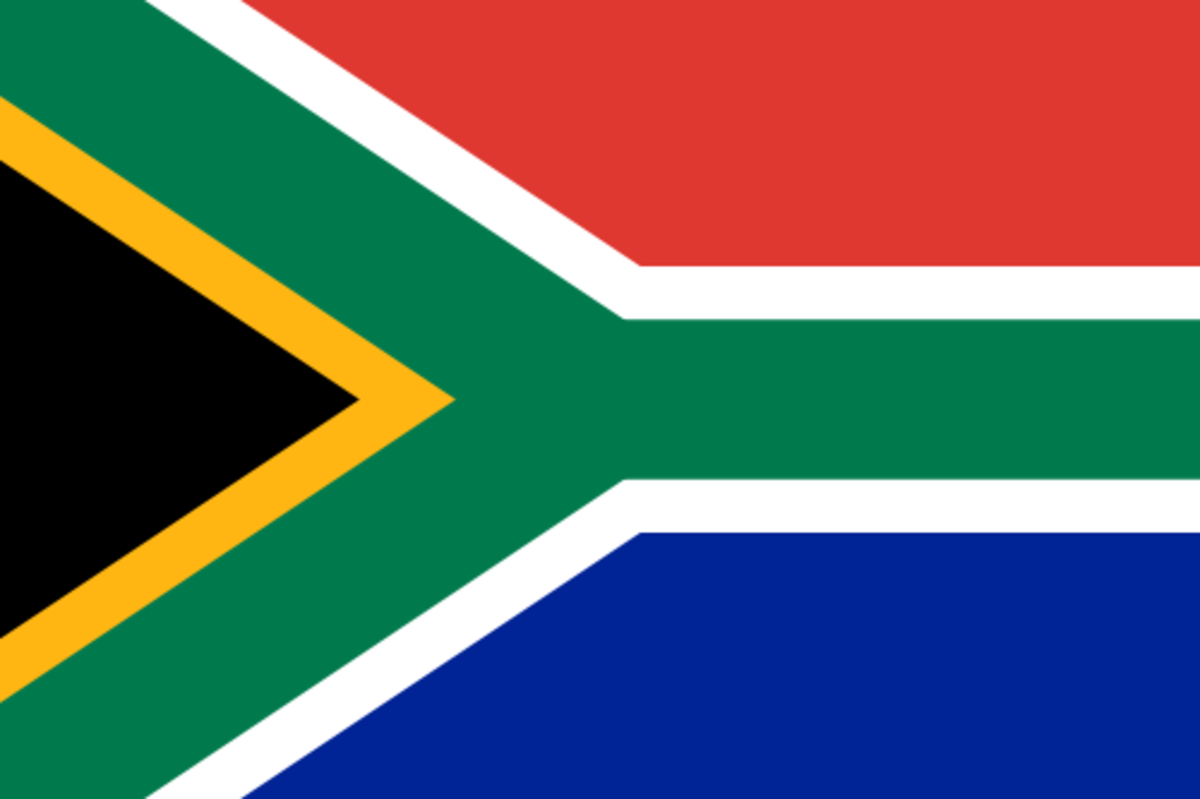 Flag adopted as the National Flag in 1994. Image Wikipedia