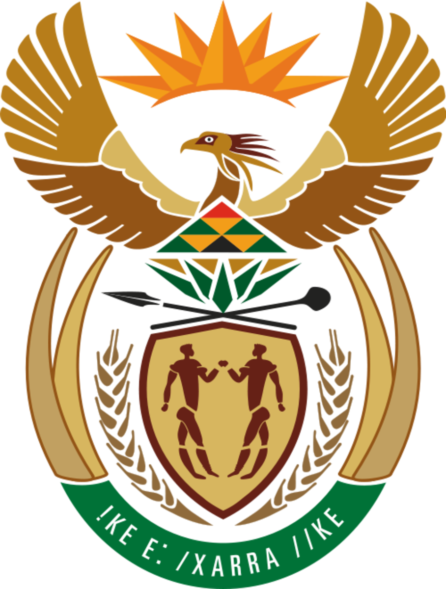 Coat of Arms of South Adopted in 2000. Image from Wikipedia