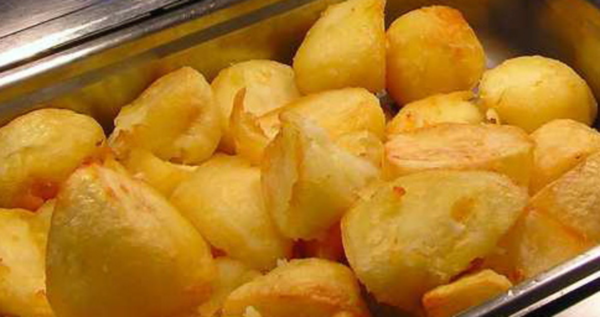 Delicious Roast Potatoes