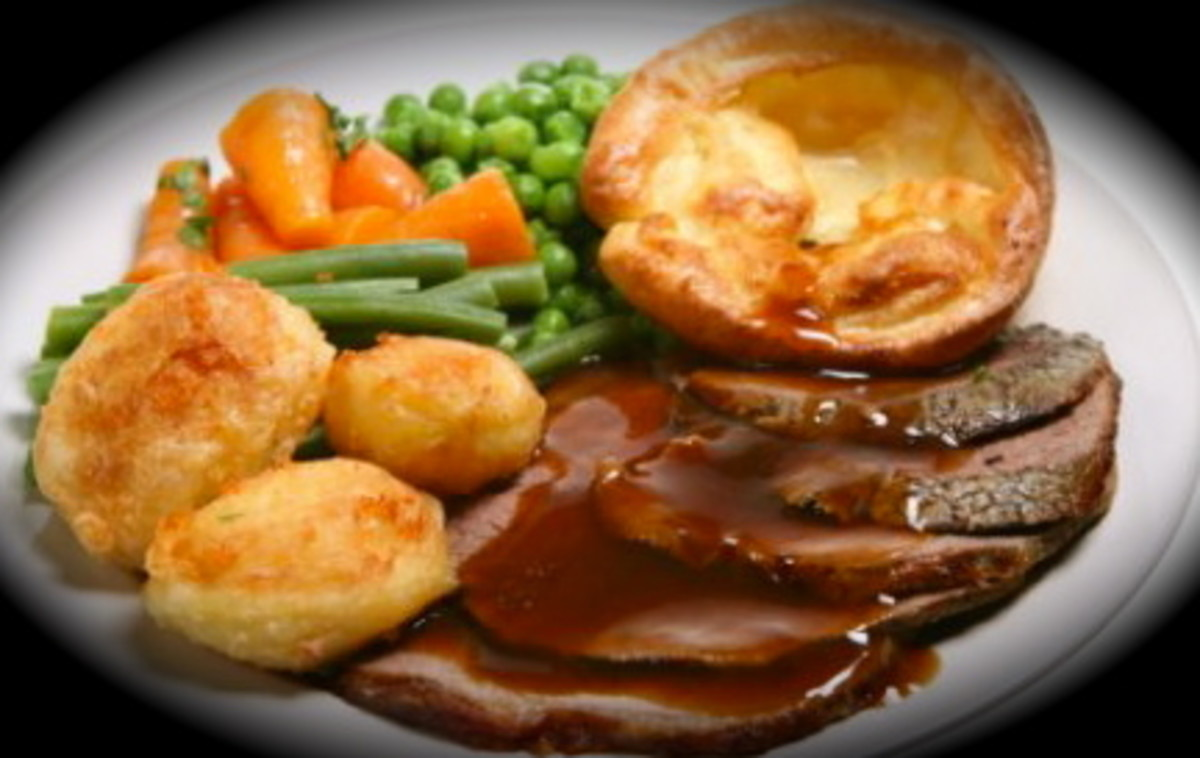 Roast Beef Sunday Lunch