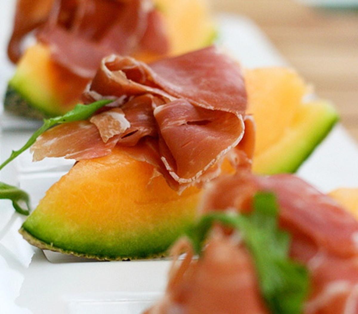 Melon and Parma Ham Starter