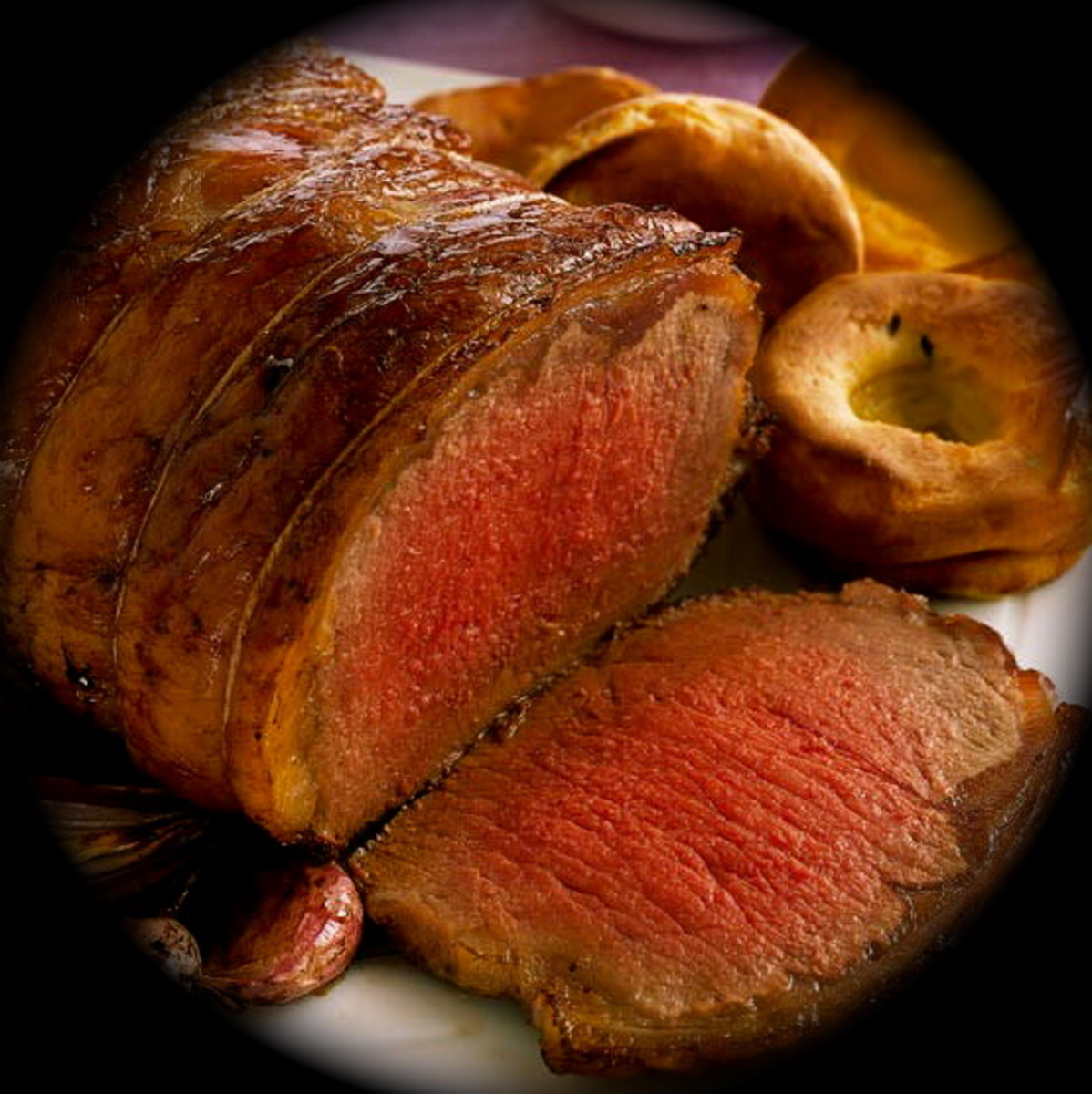 How to Cook a Low Fat, Calorie Counted  Roast Beef Sunday Lunch