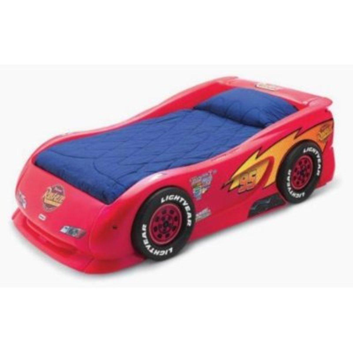 Little Tikes Lightning McQueen Race Car Twin Bed