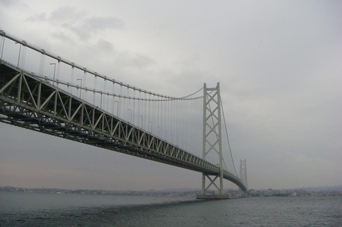 Akashi-Kaikyo Bridge.