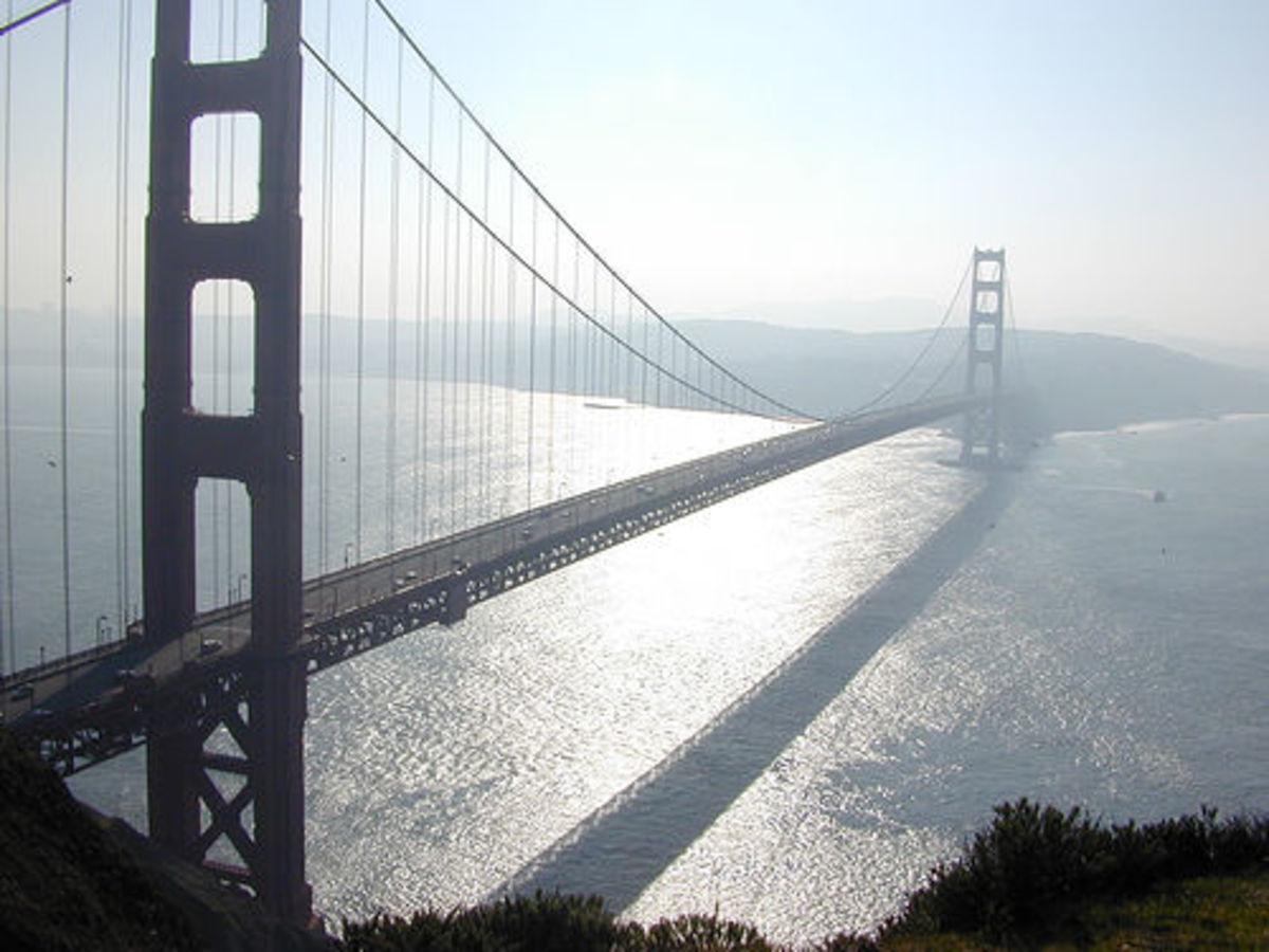 Golden Gate Bridge.