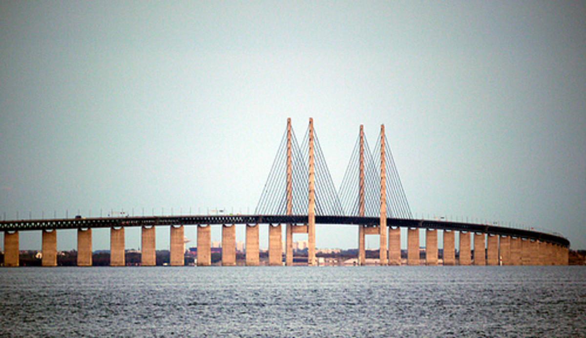 Oresund Bridge.