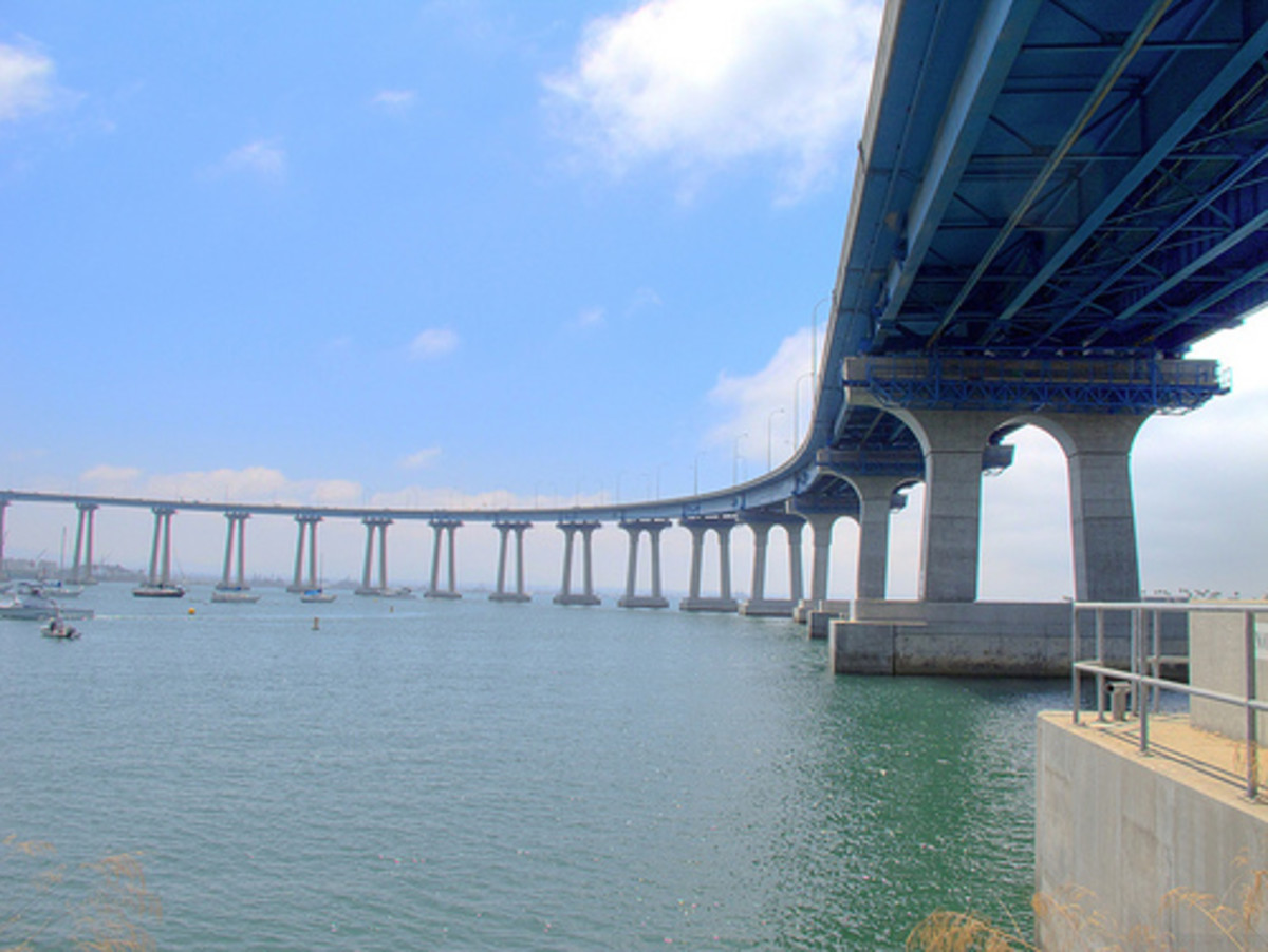 San Diego-Coronado Bridge.