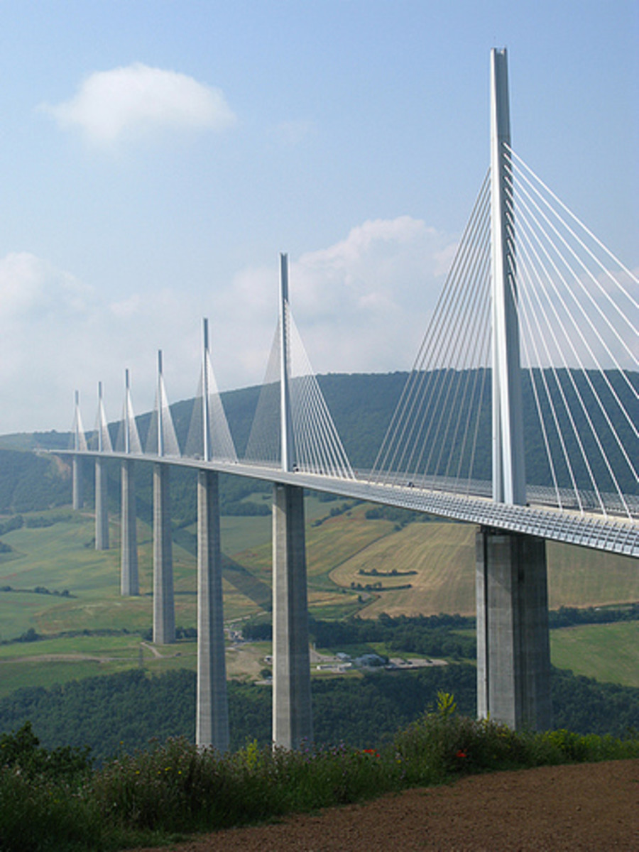 Millau Bridge.