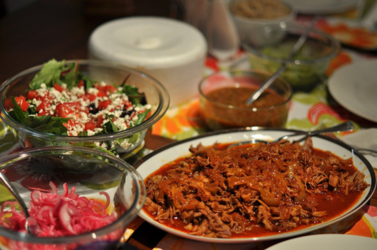 Cochinita Pibil in sauce