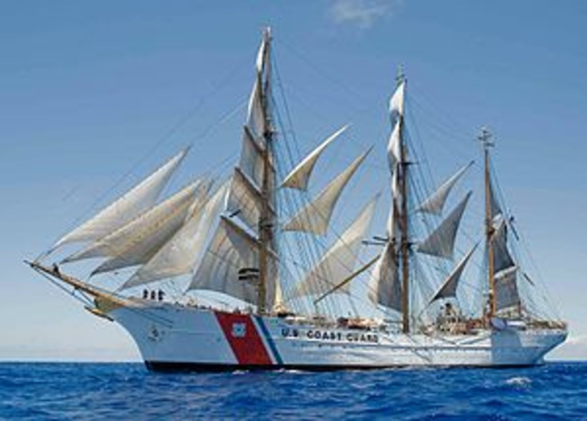USS Eagle - Coast Guard Training Ship