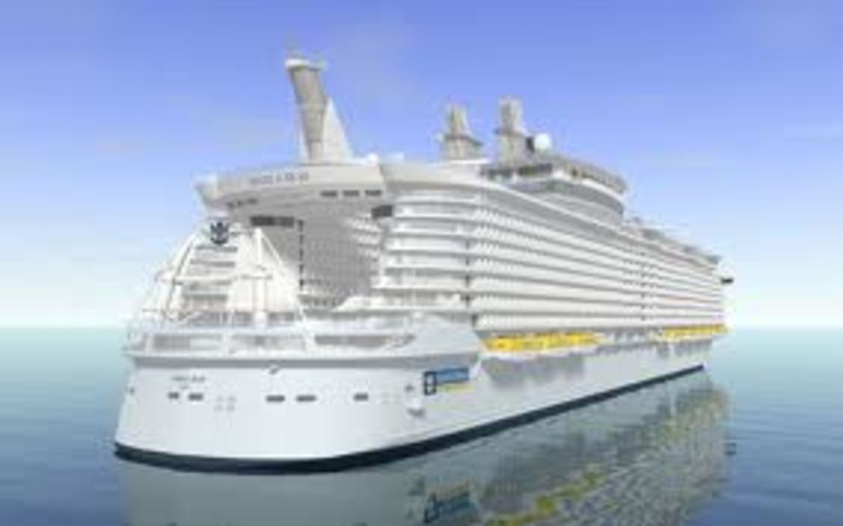 Oasis of the Seas is a lady!