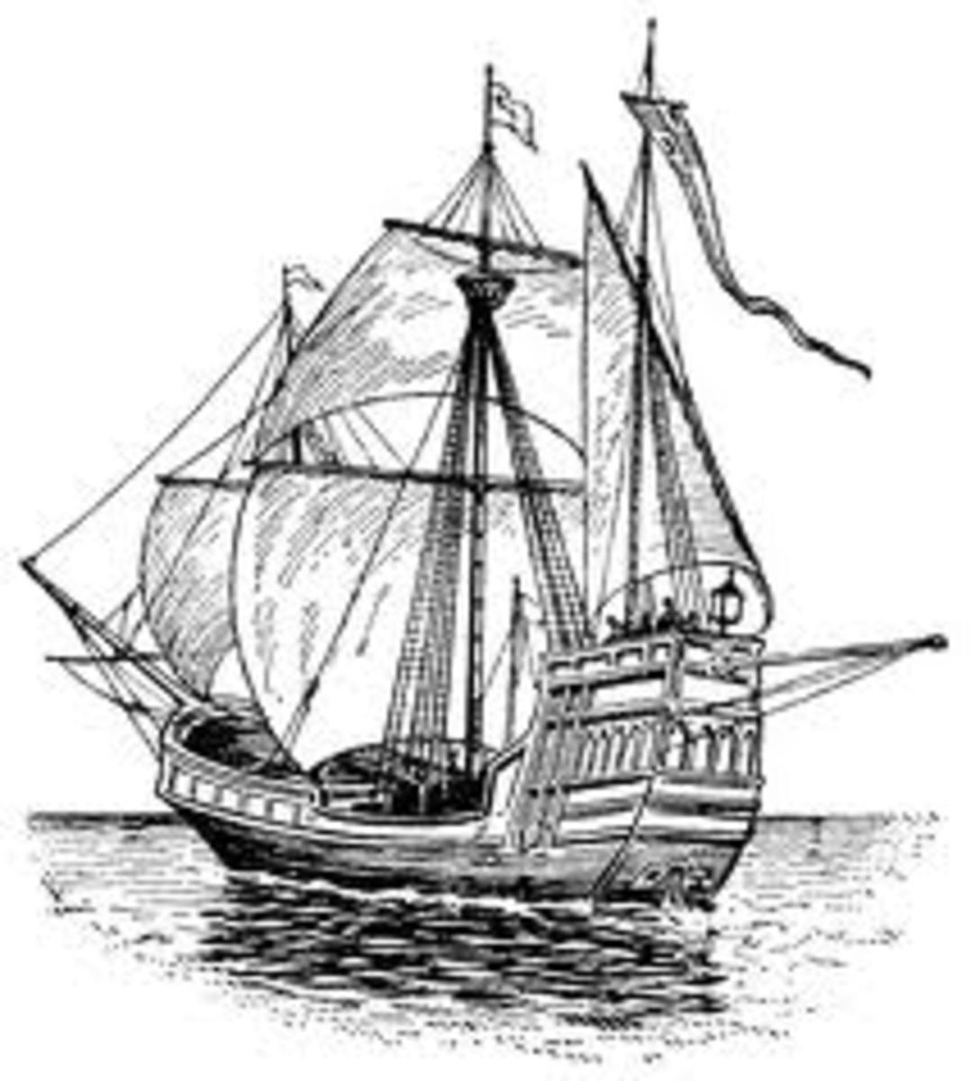 Columbus' ship - Santa Maria