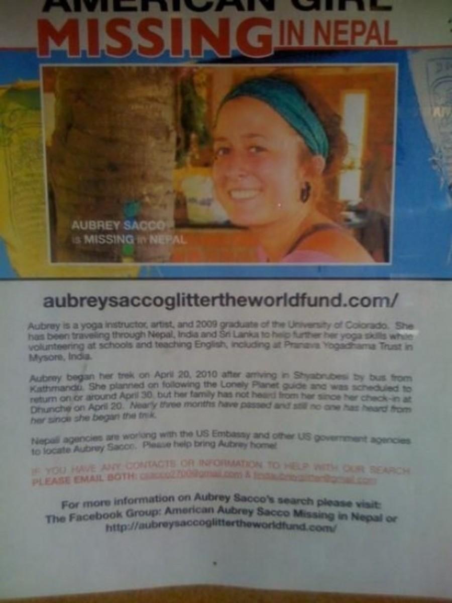 Aubrey Sacco poster