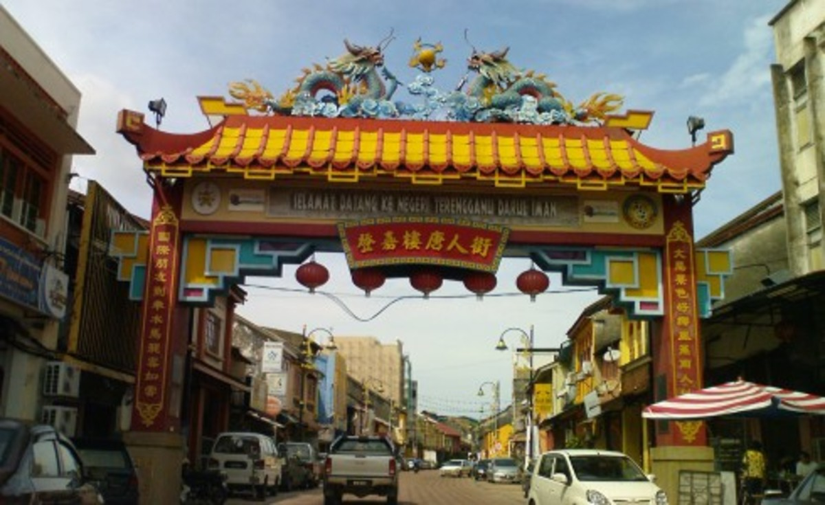 Kampung Cina (Chinatown) in Kuala Terengganu – an exquisite Chinatown in the midst of traditional Malay state