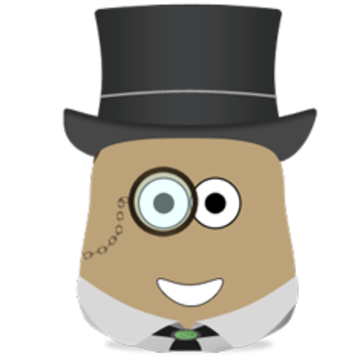 Look at this gentlemanly blob.