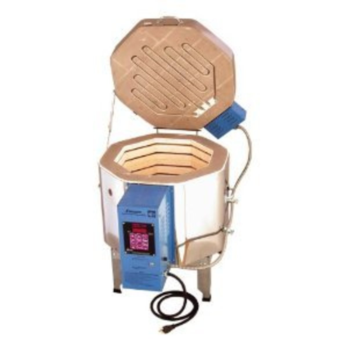 A small top loading kiln - ideal for a beginner in pottery and ceramic. Image Credit: Amazon.com