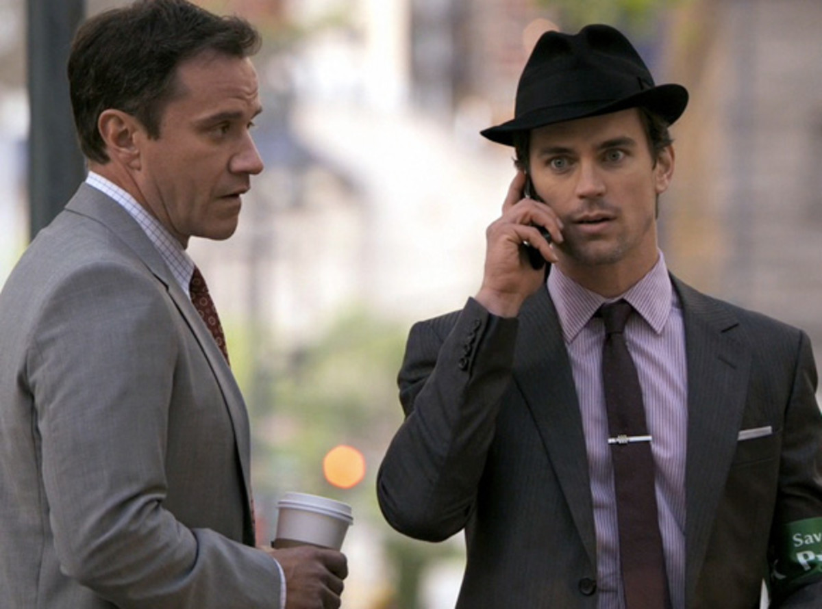 White Collar's Agent Burke & Neal Caffrey in his Fedora Hat