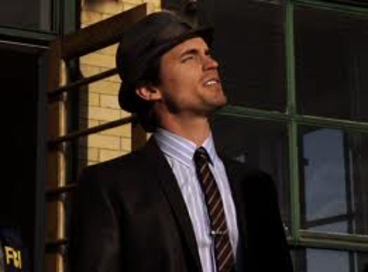 Neal Caffrey Wearing Fedora Hat