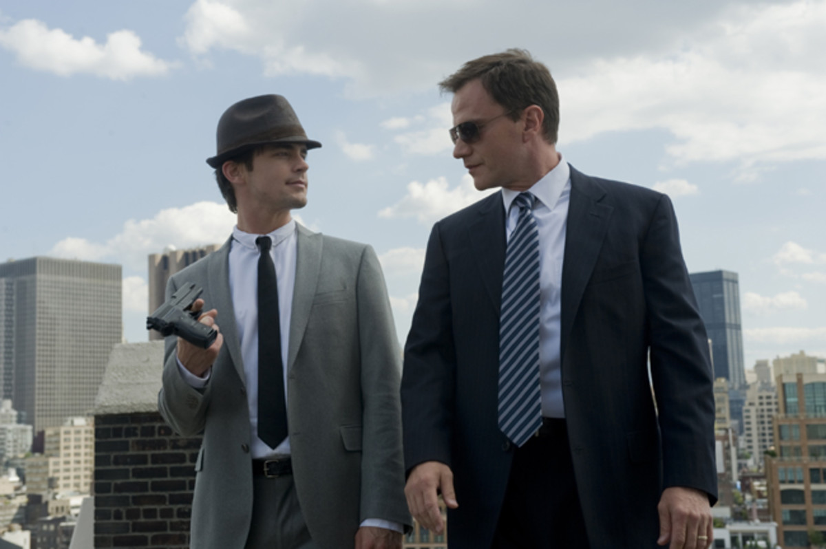 Special Agent Peter Burke & the Infamous Con Artist, Neal Caffrey