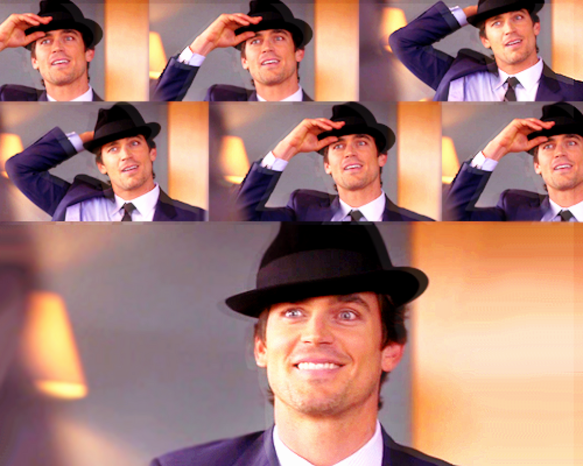 Neal Caffrey Wearing A Fedora Hat with Style