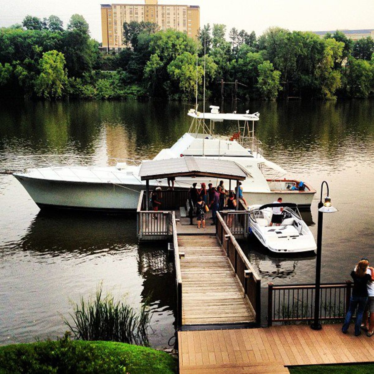 They even have a dock if you're on your boat and feel like stopping in.