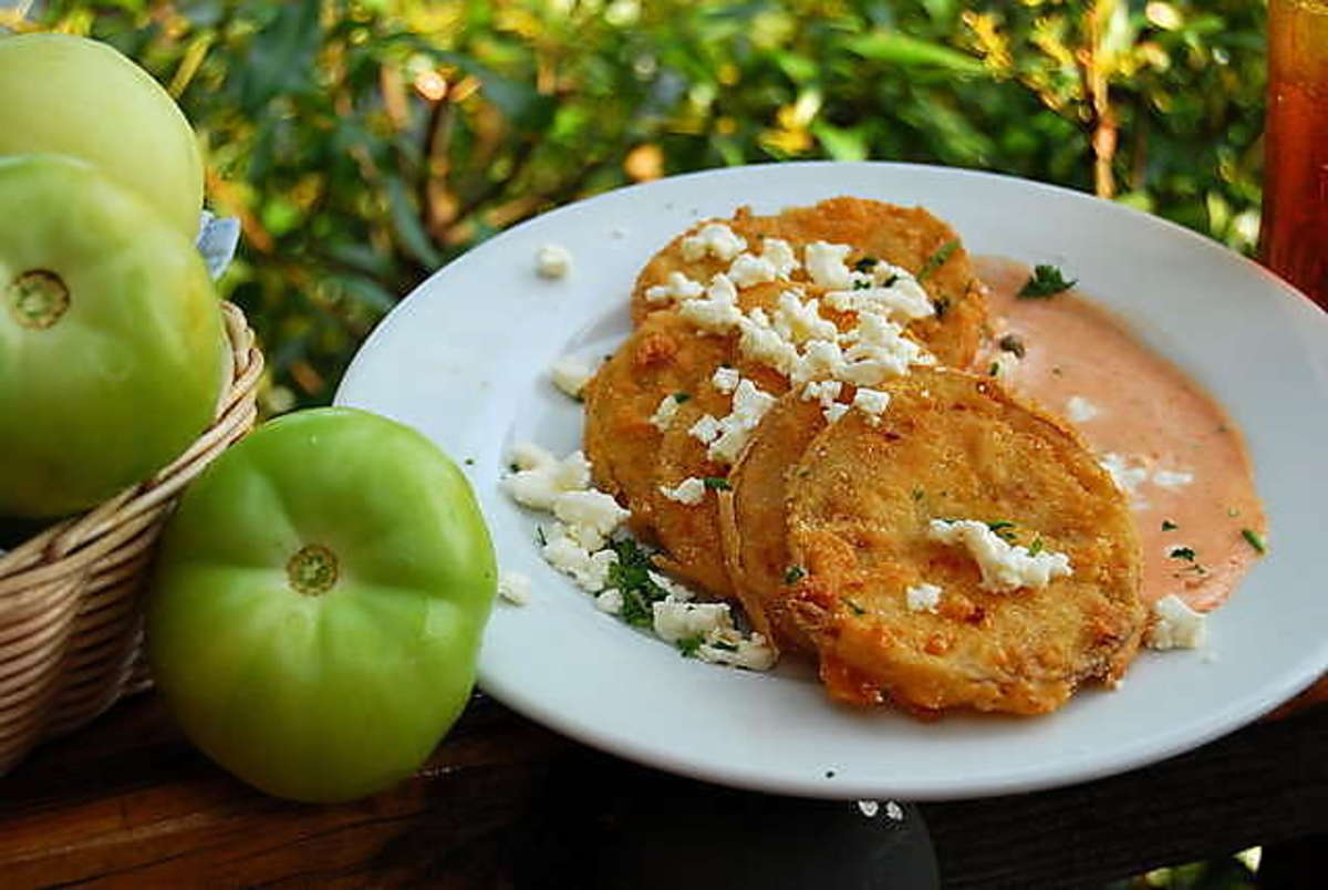 Cypress Inn's famous fried green tomatoes.
