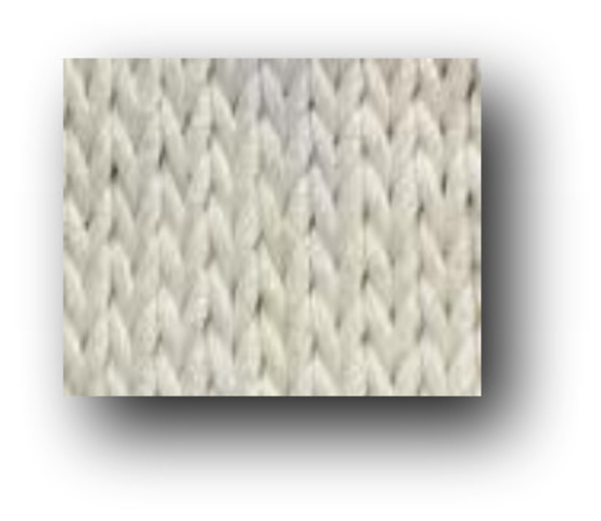 close up of knit fabric