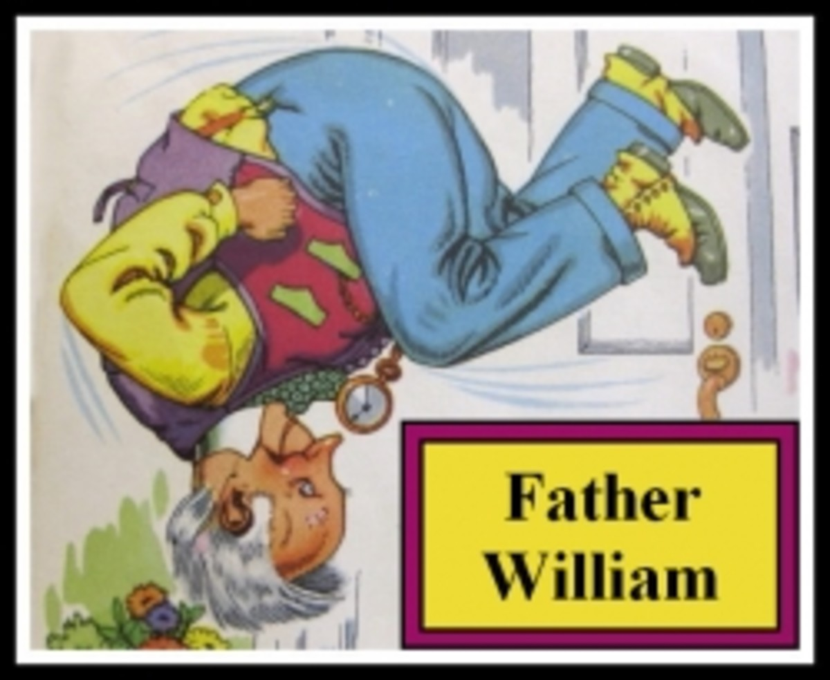 Father William does a somersault!
