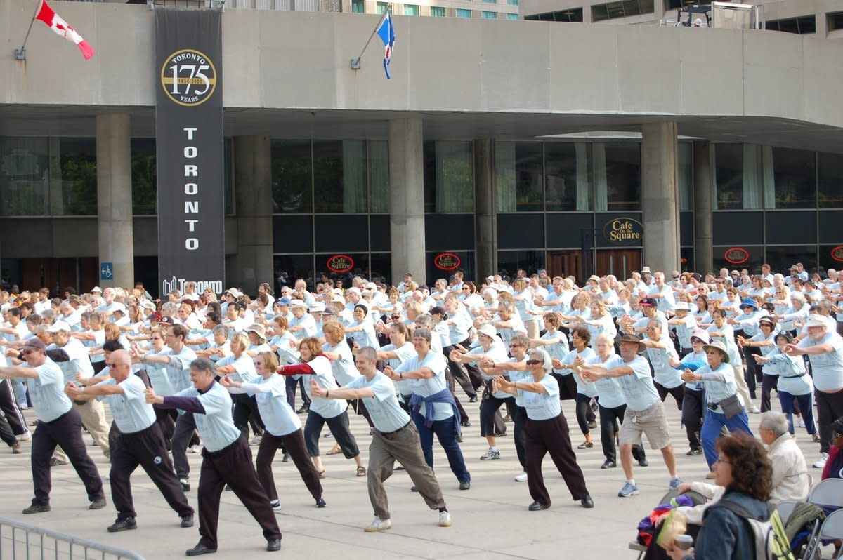 International Taoist Tai Chi Awareness Day at Toronto City Hall
