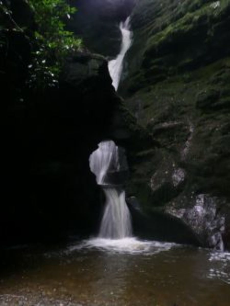Visiting St Nectan's Glen, Cornwall