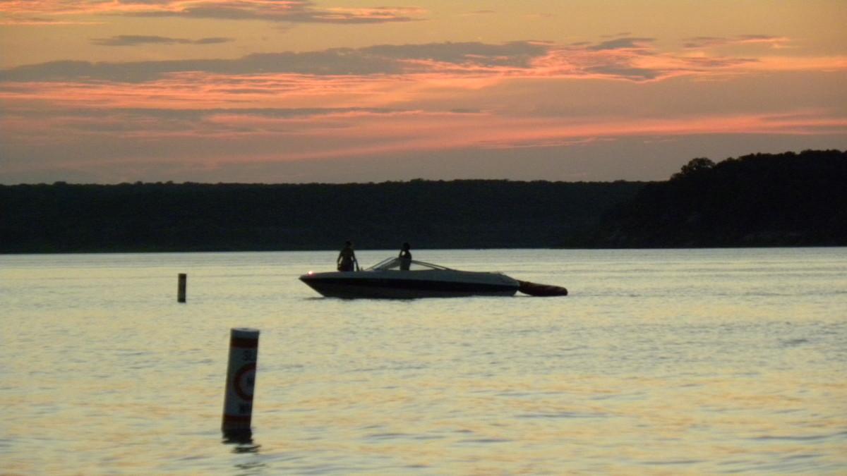 Sunset on the Lake Belton Lake TX