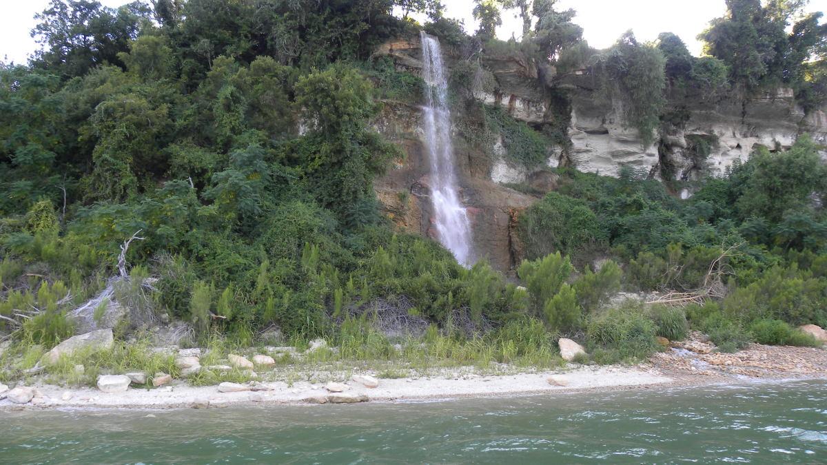 Water Falls at Belton Lake TX