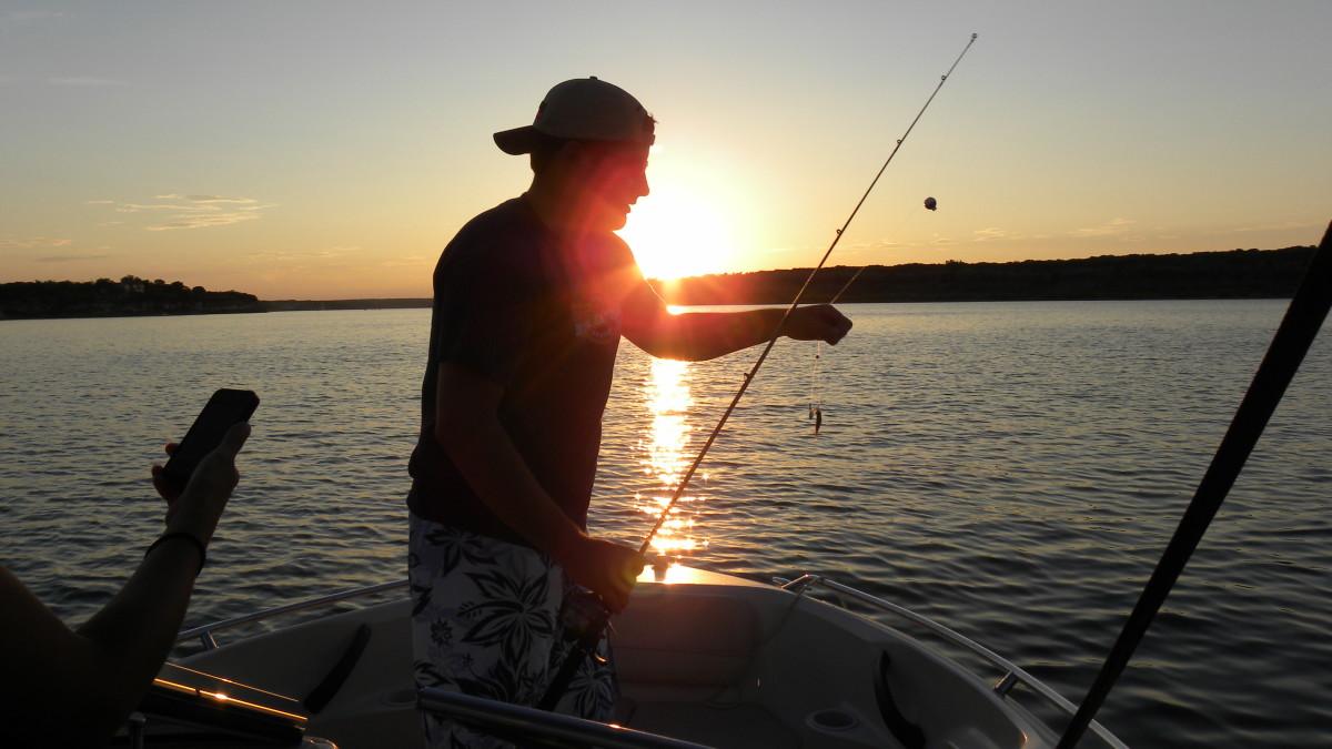 Fishing on Lake Belton TX
