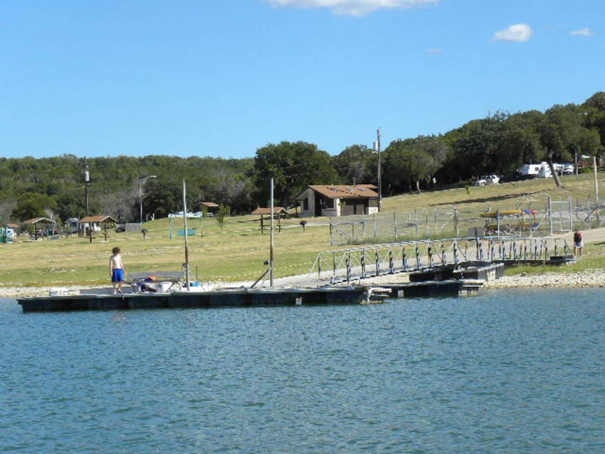 Loading docks at BLORA Belton Lake TX