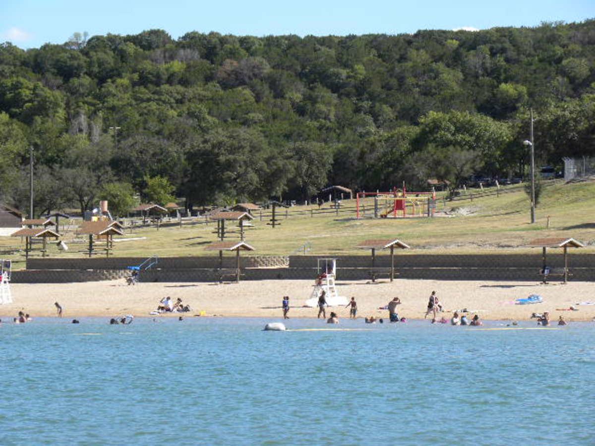 Public Beaches Belton Lake TX