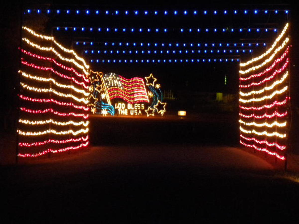 Fort Hood Nature in Lights at BLORA Belton Lake TX